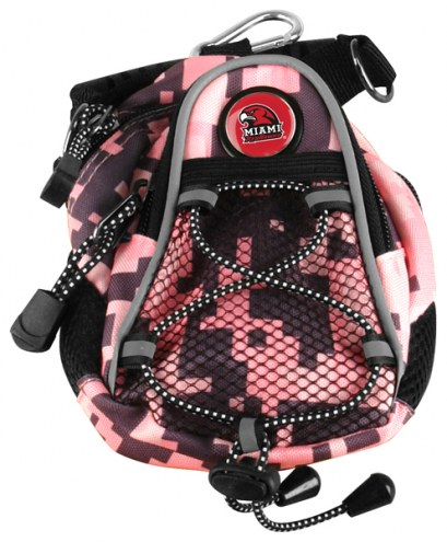 Miami Of Ohio Redhawks Pink Digi Camo Mini Day Pack
