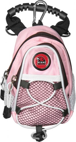 Miami Of Ohio Redhawks Pink Mini Day Pack