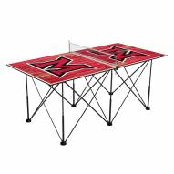 Miami of Ohio RedHawks Pop Up 6' Ping Pong Table
