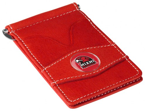 Miami Of Ohio Redhawks Red Player's Wallet