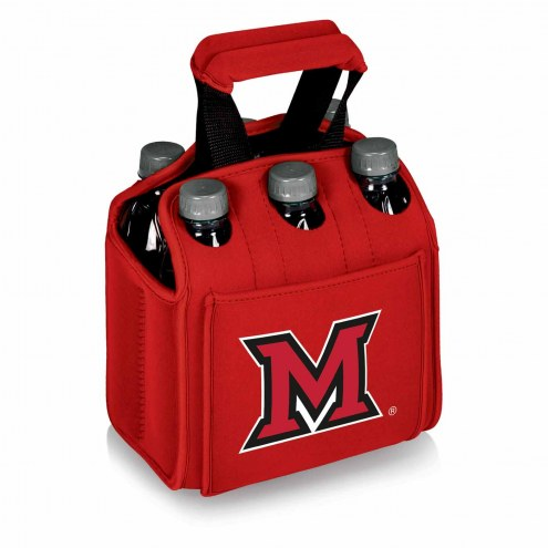 Miami of Ohio RedHawks Red Six Pack Cooler Tote