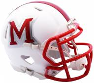 Miami of Ohio RedHawks Riddell Speed Mini Collectible Matte Football Helmet