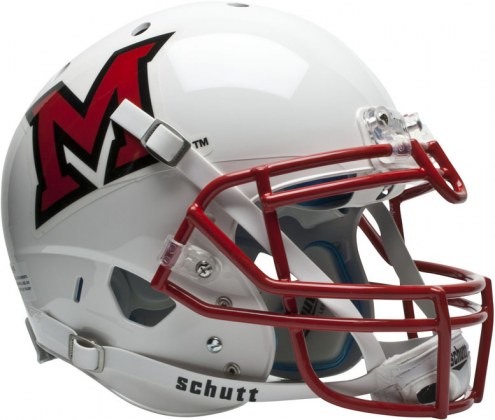Miami of Ohio RedHawks Schutt XP Authentic Full Size Football Helmet