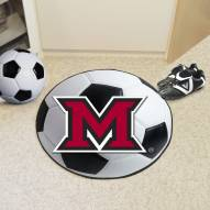 Miami of Ohio RedHawks Soccer Ball Mat