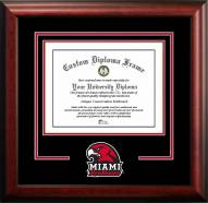 Miami of Ohio RedHawks Spirit Diploma Frame