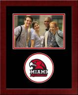 Miami of Ohio RedHawks Spirit Horizontal Photo Frame