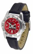 Miami of Ohio Redhawks Sport AnoChrome Women's Watch