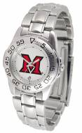 Miami of Ohio Redhawks Sport Steel Women's Watch