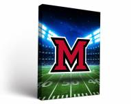 Miami of Ohio RedHawks Stadium Canvas Wall Art