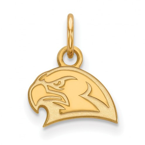Miami of Ohio RedHawks Sterling Silver Gold Plated Extra Small Pendant