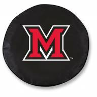 Miami of Ohio Redhawks Tire Cover