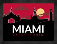 Miami of Ohio RedHawks Uscape Wall Decor