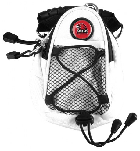 Miami Of Ohio Redhawks White Mini Day Pack