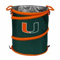 Miami Hurricanes Collapsible Trashcan