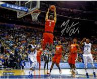 Michael Carter-Williams Signed Syracuse Alley-Oop Dunk 8 x 10 Photo