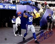 Michael Strahan Signed Taking The Field 8 x 10 Photo
