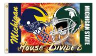 Michigan/Michigan State 3' x 5' House Divided Flag