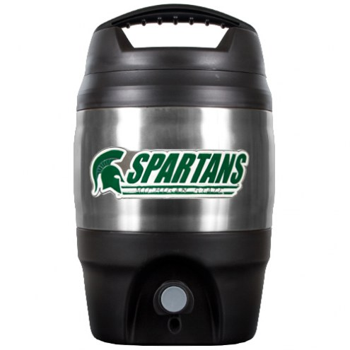 Michigan State Spartans 1 Gallon Beverage Dispenser