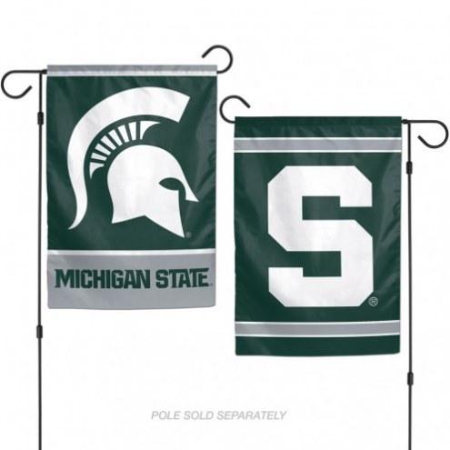 """Michigan State Spartans 11"""" x 15"""" Garden Flag"""