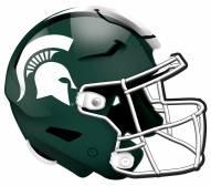 "Michigan State Spartans 12"" Helmet Sign"