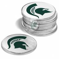 Michigan State Spartans 12-Pack Golf Ball Markers