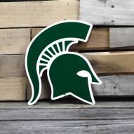 "Michigan State Spartans 12"" Steel Logo Sign"