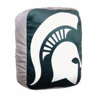 """Michigan State Spartans 15"""" Cloud Pillow"""