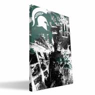 "Michigan State Spartans 16"" x 24"" Spirit Canvas Print"
