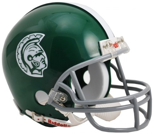 Michigan State Spartans 1965 Riddell Speed Mini Collectible Throwback Football Helmet