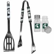 Michigan State Spartans 2 Piece BBQ Set with Salt & Pepper Shakers