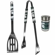 Michigan State Spartans 2 Piece BBQ Set with Season Shaker