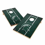 Michigan State Spartans 2' x 3' Vintage Wood Cornhole Game