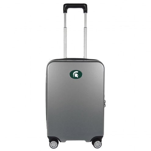 """Michigan State Spartans 22"""" Hardcase Luggage Carry-on Spinner"""