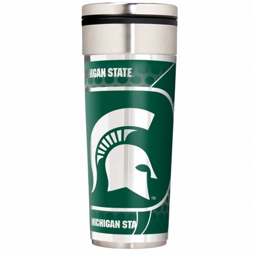 Michigan State Spartans 22 oz. Hi Def Travel Tumbler