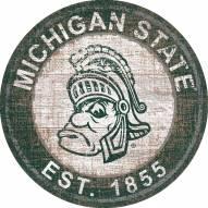 "Michigan State Spartans 24"" Heritage Logo Round Sign"