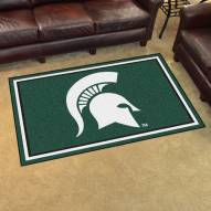 Michigan State Spartans 4' x 6' Area Rug