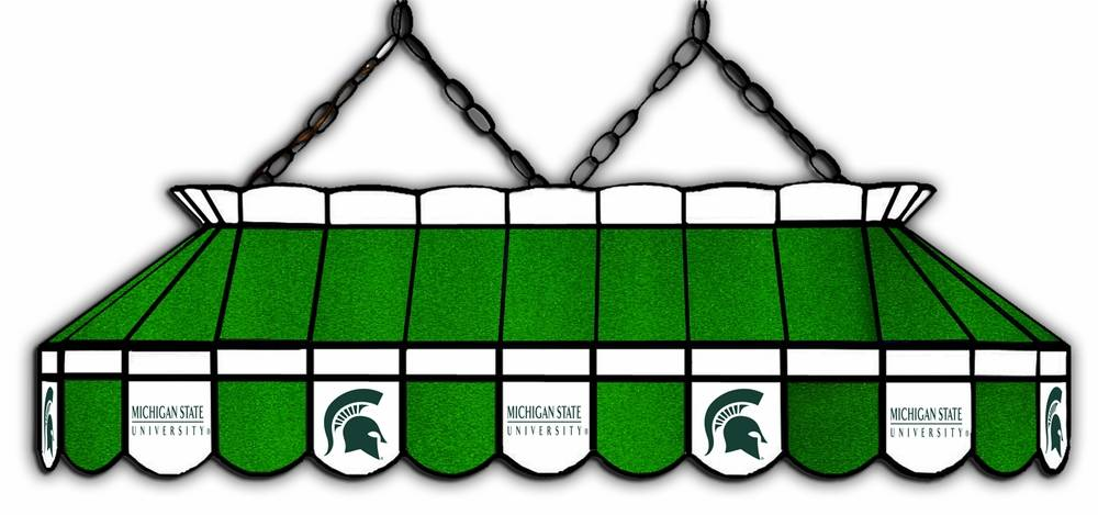 Michigan State Spartans 40 Quot Stained Glass Pool Table Light
