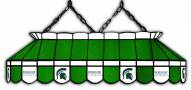 """Michigan State Spartans 40"""" Stained Glass Pool Table Light"""