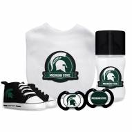 Michigan State Spartans 5-Piece Baby Gift Set