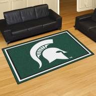 Michigan State Spartans 5' x 8' Area Rug