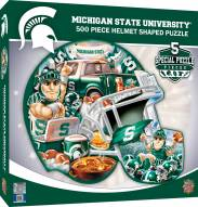 Michigan State Spartans 500 Piece Helmet Shaped Puzzle