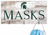 "Michigan State Spartans 6"" x 12"" Mask Holder"