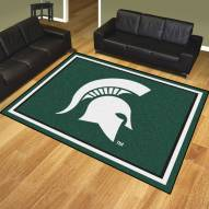 Michigan State Spartans 8' x 10' Area Rug