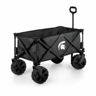 Michigan State Spartans Adventure Wagon with All-Terrain Wheels