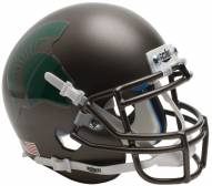 Michigan State Spartans Alternate 3 Schutt Mini Football Helmet