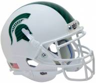 Michigan State Spartans Alternate 4 Schutt Mini Football Helmet