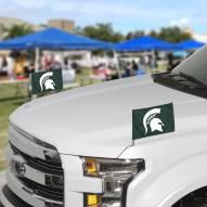 Michigan State Spartans Ambassador Car Flags