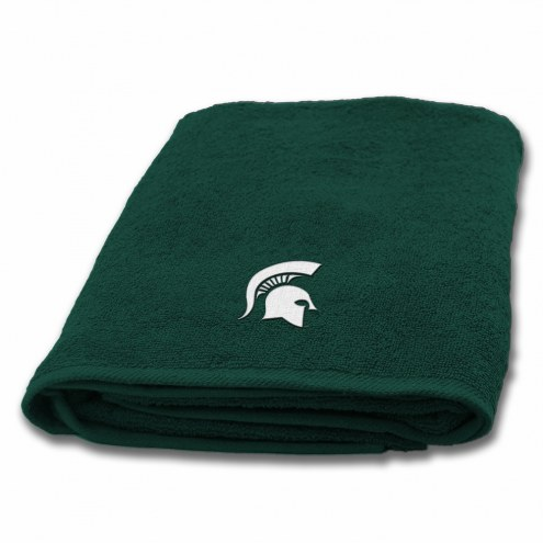 Michigan State Spartans Applique Bath Towel