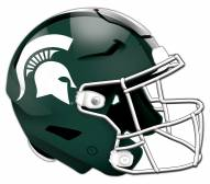Michigan State Spartans Authentic Helmet Cutout Sign
