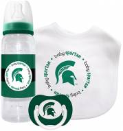 Michigan State Spartans Baby Gift Set